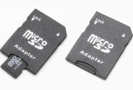 Wholesale-SD card adapter TF MICRO SD SDHC TO SD CARD Adapter Can imprint your logo with some extre fee