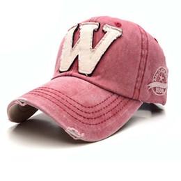 5 Colors Denim Snapback Hats Autumn Summer Letter W Men Women Baseball Caps Golf Hat Sunblock Gorras Beisbol Hockey Chapeu Caps