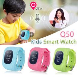 Enfants finder à vendre-Q50 GPS Tracker Smart Watch pour les enfants SOS Safe Call Localisation Finder Trackers Anti Lost Monitor Smartwatch pour les enfants