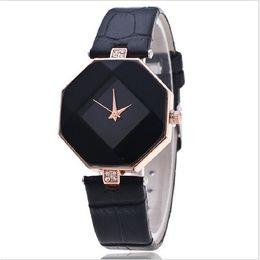 Women's Fashion Leisure Rhombus Quartz Steel Belt Wrist Watch(Assorted Colors) Cool Watches Unique Watches