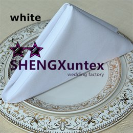 Good Quality Cotton Napkin For Wedding Table Cloth Decoration