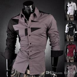 Wholesale El tamaño famoso de la calidad de la camisa de vestido del juego de Sliming del algodón del negocio del diseño del Mens caliente de la venta libera el envío