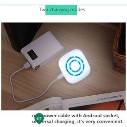 Accueil Lampe de nuit à télécommande à distance Lampe de table à infrarouge sans fil portative à partir de dc a mené la lumière au plafond fabricateur