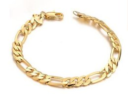 Wholesale Special offers k gold jewelry Personality man cool bracelet long lasting color preserving allergy
