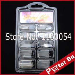 NOUVEAUX 100 PCS False Nails Tips DUAL clair couleur NAIL ART système ACRYLIQUE faux outils TIPS # 05 à partir de ensemble acrylique double forme fabricateur