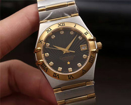 Wholesale Selling design brand mens or women luxury watches high quality automatic machine mechanical core L stainless steel case gold silver