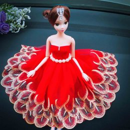 Children Toys Creative handmade wedding Barbie dolls Car decoration It's a vinyl doll with movable arms and legs