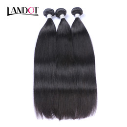 UNPROCESSED Brazilian Peruvian Malaysian Indian Cambodian Mongolian Virgin Human Hair Weaves Bundles Straight Soft Full Remy Hair Extensions