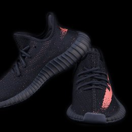 Wholesale Boost V2 Dropping On Black Friday Kanye West Sply Boost Shoes Sneakers Beluga Black White Red Double Box