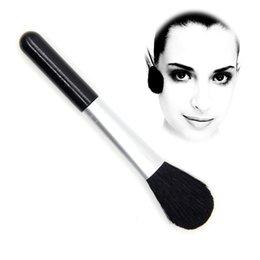 Polyuréthane plastique en Ligne-Brosse de maquillage en laine professionnelle Brosse de plastique en polyuréthane
