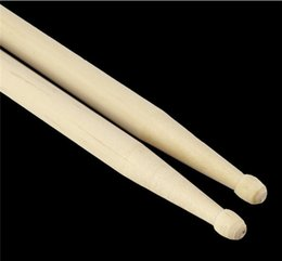 Ensembles de batterie à vendre-5A bâtons de bois d'érable bâton pour tambours Set 100pcs léger professionnel 100pcs libre DHL / Fedex