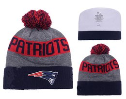 Wholesale Patriots Heather Gray Sideline Sport Knit Hat New England Team Beanies Hot Sale Knitted Hats Popular Skull Cap