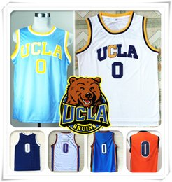 Wholesale Stitched NCAA UCLA Bruins College Russell Westbrook Hot Sale Jersey Shirt Throwback Christmas All star Sport Cheap NEW