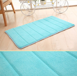 Top Selling 40x60cm Bath Mat Bathroom Bedroom Non-slip Mats Memory Foam Rug Shower Carpet for Bathroom Kitchen CD002