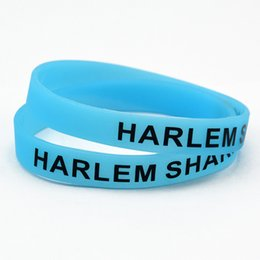 100PCS Lot Harlem Shake Silicone Wristband A Great Way To Show Your Idol By Wear This Kind Of Bracelet