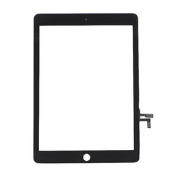 50PCS Touch Screen Glass Panel Digitizer Replacement for iPad Air Black and White free DHL