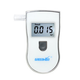 Wholesale GREENWON Professinal Digital Alcohol Tester Detector Breathalyzer backlight with Alarm Alert
