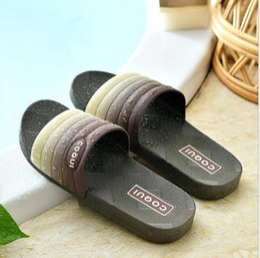 PT5 barthroom shoes skid resistance flip flops women sandal couple
