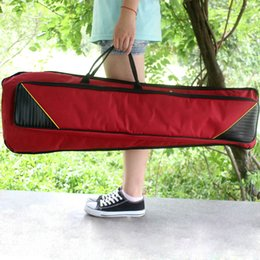 Wholesale D Trombone Gig Bag Water resistant Oxford Cloth Backpack Adjustable Shoulder Straps Cotton Padded for Alto Tenor Trombone