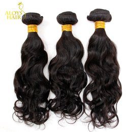 Mongolian Water Wave Virgin Hair Extensions 3 Pcs Lot Unprocessed Virgin Mongolian Natural Wave Remy Human Hair Weaves Wavy Bundles