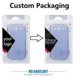 New Style DIY Customize Company LOGO Zipper Lock Plastic PVC Pakckaging Bags for Phone Case for iphone 7 7plus Phone Case Packaging Bag