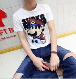 Descuento ropa tatuado Palacio de whine vetememts hombres de manga corta t-shirt marea tatuaje algodón estudiante de dibujos animados de grasa verano amantes ropa de medio mangas