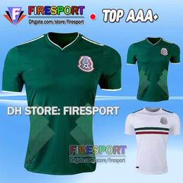 2017 Mexico national Team CHICHARITO Soccer Jersey Home Green White 17 18 Maillot de foot G.DOS SANTOS R.MARQUEZ Hernandez Football Shirt