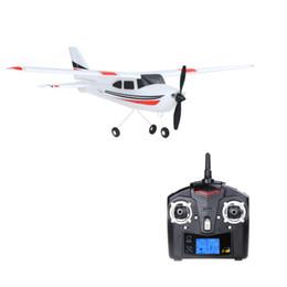 Venta al por mayor- Original Wltoys F949 2.4G 3 Coreless Motors RC Aeroplano Avión de Largo Plano Avión de Ala Fija Abierto Al Aire Libre Drone flying distance on sale desde distancia de vuelo proveedores