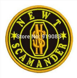 """3"""" Fantastic Beasts and Where to Find Them collector patch Newt Scamander iron on badge harry potter movie christmas gift"""
