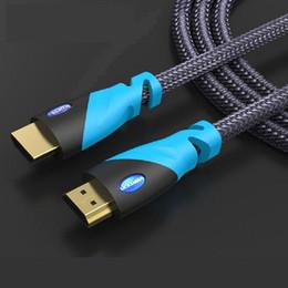 Câbles xbox av à vendre-Câble HDMI mâle à mâle tissé plaqué or pour ordinateur, PS3 / XBOX, BD, TV, téléviseur LCD, projecteur, caméra, processeur AV, etc.