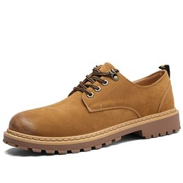 2017 New Fashion Design Product Casual Shoes Men Lace-up Hard-wearing Leather Shoes Men High Quality Normal Size Men Shoes