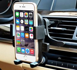 2016 vent mount gps 360 degrés de véhicule de voiture Air Vent Support de téléphone portable pour IPhone 6s Samsung s6 HTC GPS Smart Phones budget vent mount gps