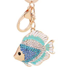 Bling Bling Crystal Rhinestone llavero lindo llavero de metal Keychain Llavero de coches Llavero de bolsillo encantos mejor regalo desde colgantes tropicales fabricantes