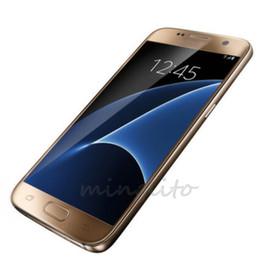 Wholesale Goophone SM G930 S71 cellphone inch MTK6580 g Quad core Show G clone phone S7 Dual sim dual standby Plastic frame