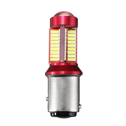 2pc 1156 BA15S 1157 BAY15D 7440 7443 T15 5W 1200LM Canbus 78 LED Car Light Bulb For Brake Lights Auto Daytime Running Light