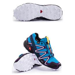 hot selling 2017 solomon man climbing shoes solomons speedcross 3 Waterproof anti-slip breathable light comfortable