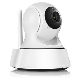 Sécurité facile en Ligne-Caméra de sécurité sans fil 720P IP Caméra de sécurité WiFi IP Caméra de sécurité pour moniteur de bébé Easy QR CODE Scan Connect