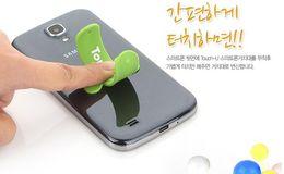 Wholesale Touch U Silicone mobile phone holder pops pat Lazy U bracket corporate logo custom manufacturers