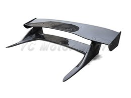 Wholesale Auto Accessories Car Styling Carbon Fiber Bee R Style Rear Spoiler Fit For R33 GTR GTS Rear Trunk Spoiler GT Spoiler