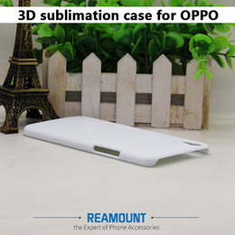 100pcs 3D sublimation cover case for OPPO R9S R9S PLUS white blank DIY printing