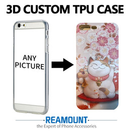 3D Stereo Relief Painting Soft Silicon Back Cover Case for iphone 7 7plus for iphone 6 6plus Mobile Phone Case DIY Pattern Case