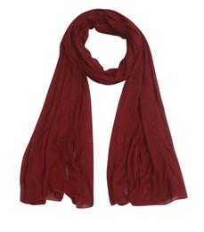Wholesale 185 CM Fashion Women Scarf Scarves Big Tassels Shawl Hot Sales Brand Popular Solid Muffler Shawls Angle Fringes Pashmina Muslim Wrap J232
