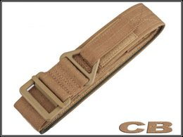 Wholesale Tactical Airsoft IPSC Special CQB rappel Tactical Belt Men sports canvas belt coyote Belt Competition High Speed Shooting Belt