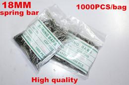 Acheter en ligne Regarder des pièces de réparation-Grossiste en gros 1000PCS / sac de haute qualité montre réparation des kits d'outils 18MM ressort bar montre pièces de réparation -041410