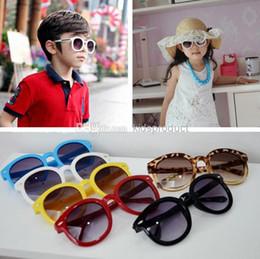UV400 Children Sports Sunglasses Kids Boys Retro Style Cute Sunglasses Factory Price Brand Designer