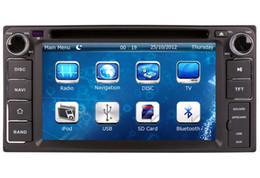 2-Din Car DVD Player Navegación GPS para Toyota Terios Fj Cruiser Innova Limusina con Radio Bluetooth TV USB SD AUX Auto Audio Video desde el jugador del sd para la televisión proveedores