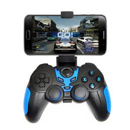 Descuento androide de la palanca de mando inalámbrico Wireless Bluetooth Gamepad Joystick Juego Controlador de juegos de control remoto para Samsung S6 S7 HTC Android teléfono inteligente Tablet TV Box