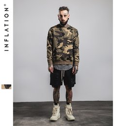 Wholesale Brand Inflation Men And Women Casual Hooded Sweater Fashion Flame Letter Camouflage Sweatshirt Loose Couples Jogging Hoodies Pullovers