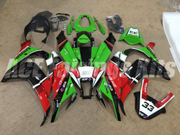 Wholesale New ABS Injection motorcycle Fairing Kits Fit For kawasaki Ninja ZX R ZX10R bodywork red green black white