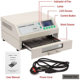 Wholesale Updated New SMD BGA T962 Infrared IC Heater Reflow Oven Machine
